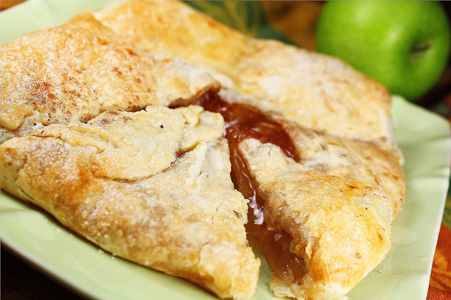 How To Make An Apple Galette Recipe — Dishmaps