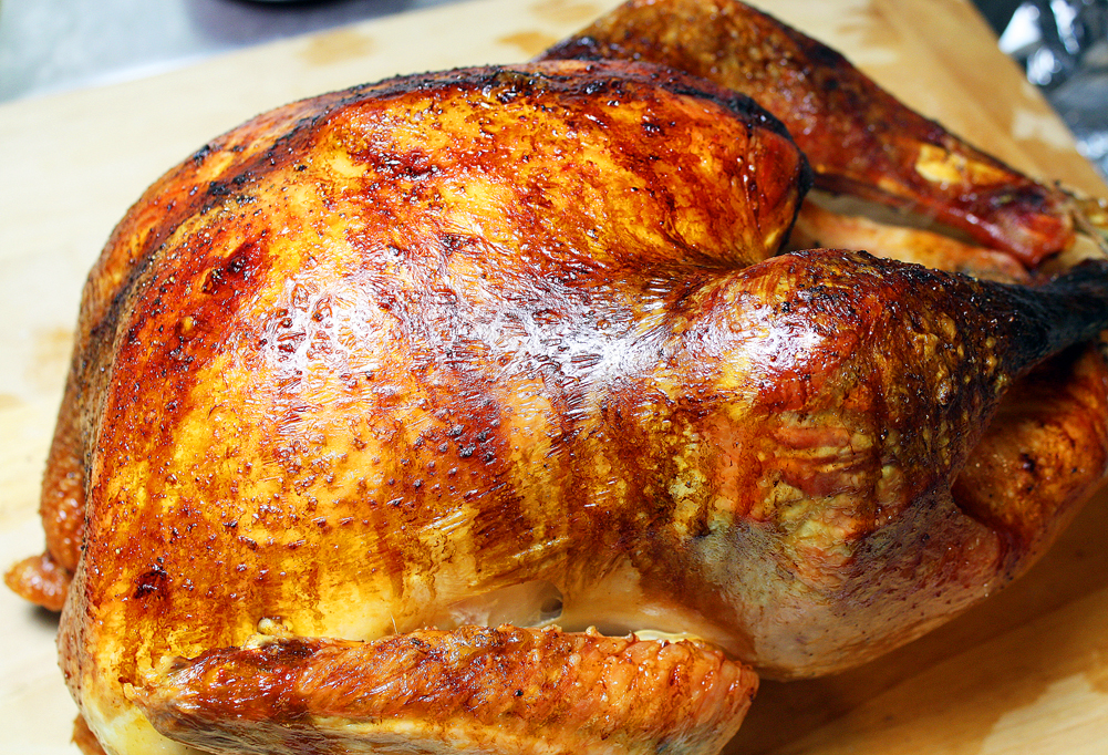 The Comfort of Cooking » Easy Roasted Turkey
