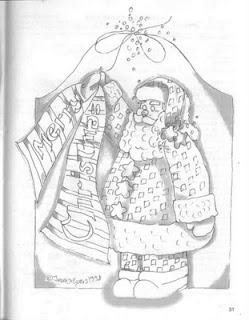 Papai Noel-natal-navidad-desenho-risco