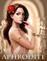 Did Greek goddesses aphrodite naked