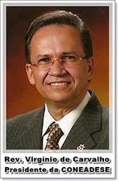 Pastor Presidente das Assembleias de Deus em Sergipe