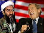 MY BUDDY, BIN LADEN. WE BUSHES LOVE HIS FAMILY!