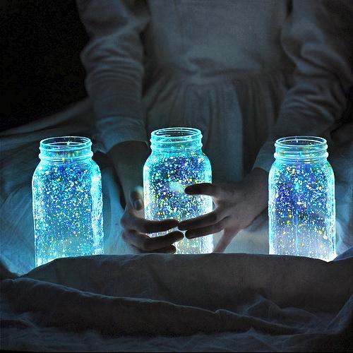 Светящиеся порошки своими руками