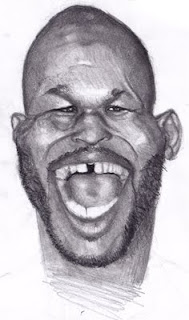 Boxer Boxing Bernard Hopkins Art Sketch Drawing Hall of Fame