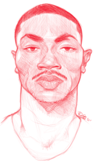 NBA Player Chicago Bulls Derrick Rose Sketch Drawing Caricature Art Twitter