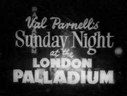 Sunday Night at the London Palladium