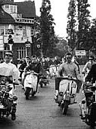 Mods on the move