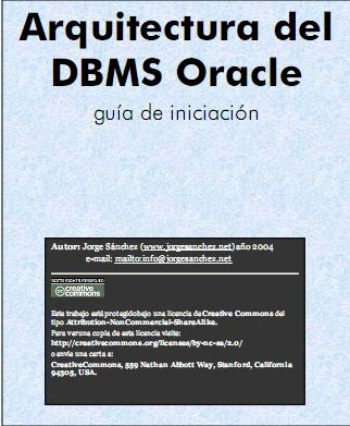 Arquitectura del DBMS Oracle por Jorge Sánchez