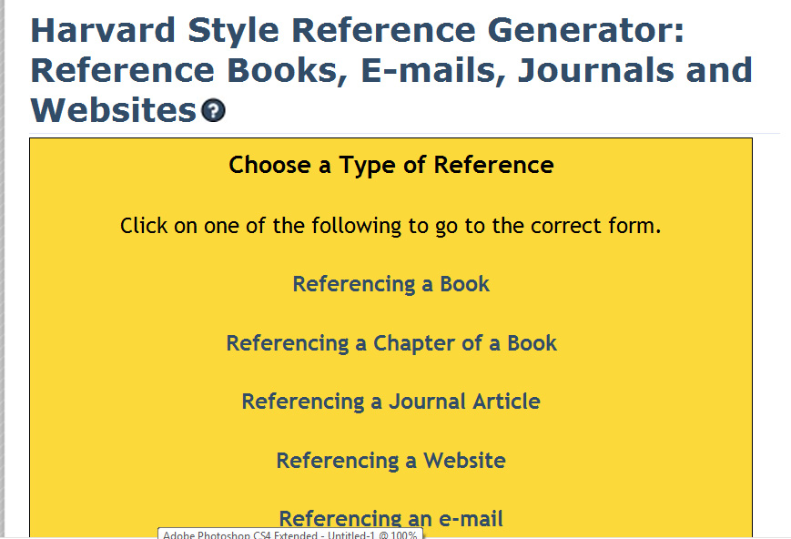 harvard reference generator thesis The powerful harvard generator above will create your references in the harvard - cite them right (9th edition) format as standard, but it can cite this for me's harvard reference generator currently uses the cite them right 9th edition, which has evolved in recent years to match the ever advancing.