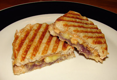 Nummy Kitchen: Peanut Butter, Jelly, and Banana Panini ...