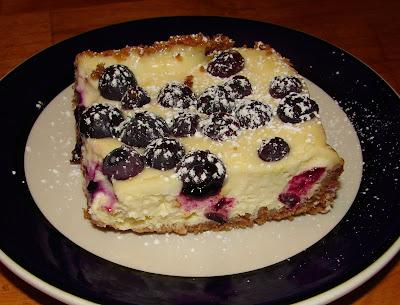 Nummy Kitchen Lemon Blueberry Cheesecake Bars Tyler