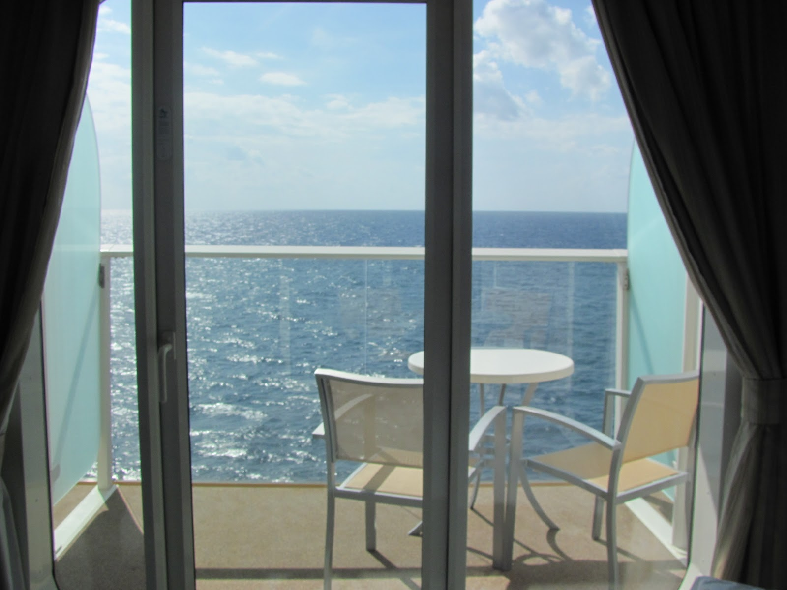 Destinations allure of the seas a sneak peek for On our balcony