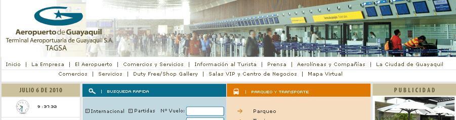Registro civil abre oficina en el aeropuerto de guayaquil for Oficina registro madrid
