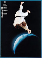 Cartell sobre Judo de les Olimpíades de Barcelona'92