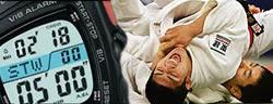 Cronòmetre amb el temps d'un combat de Judo