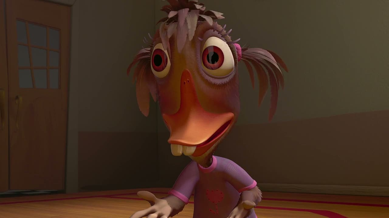 Cartoon Characters Ugly : Chicken little alternate ending