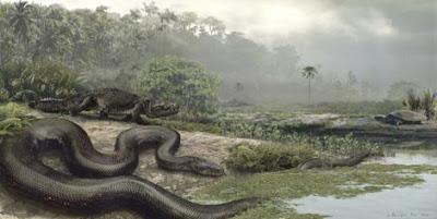 Las Serpientes Gigantes del Amazonas