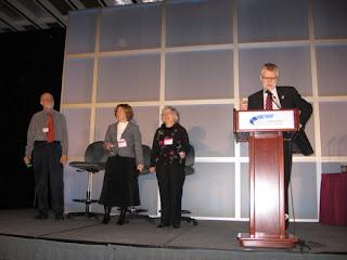 Ken Roberts, Cynthia Archer, Liz Kerr, Michael Ridley