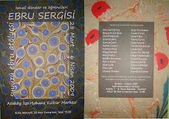 Suyüzü Ebru sergisi