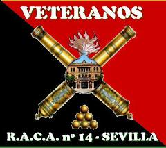 Escudo realizado por Jesús Doblas Albiñana, para todos los artilleros veteranos del RACA 14