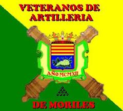 Escudo del blog de veteranos artilleros de Moriles (Córdoba), realizado por Jesús Doblas Albiñana