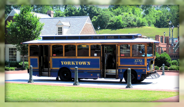 The yorktown trolley is a fun and unique way to get around yorktown