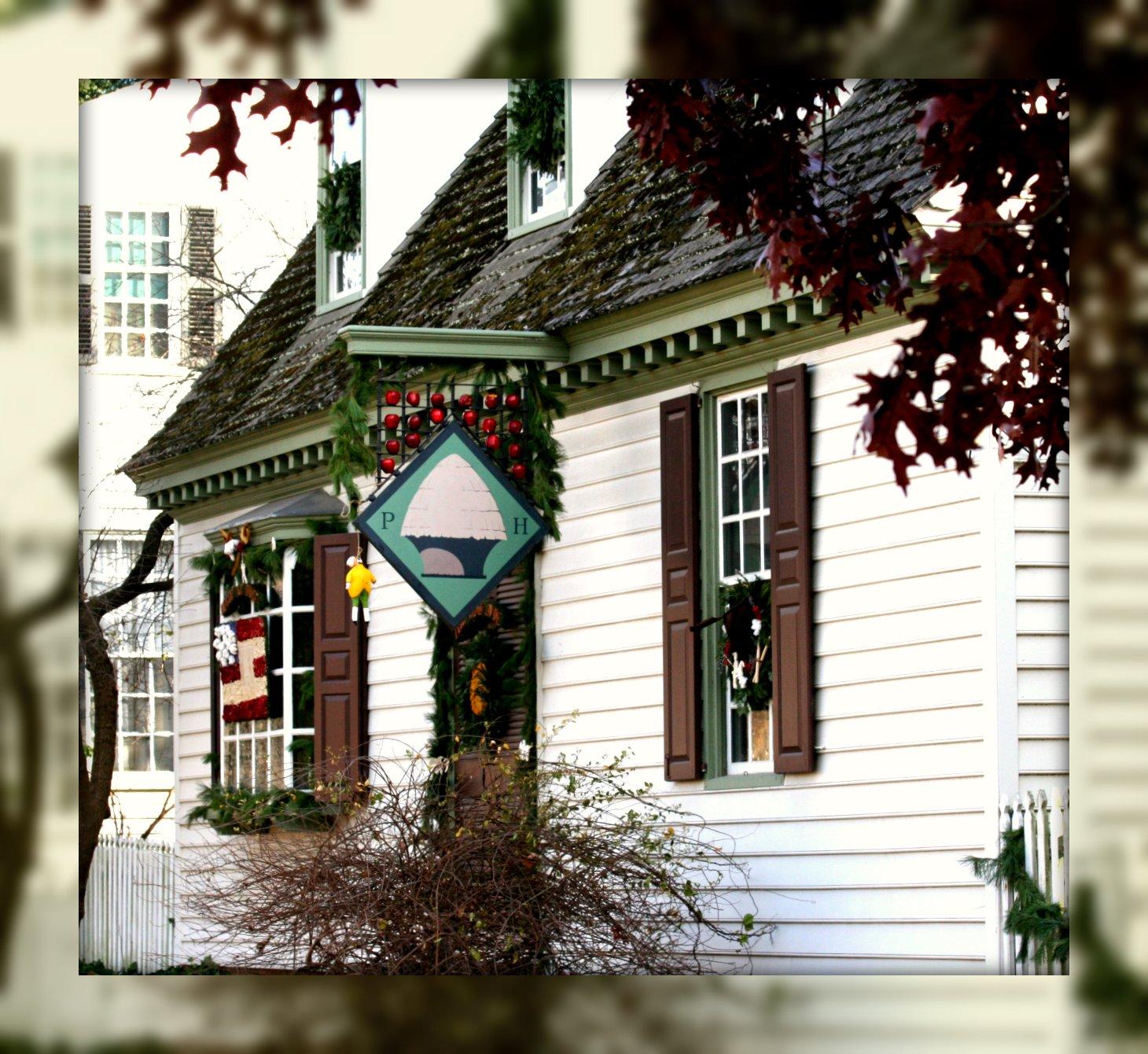 Living In Williamsburg, Virginia: Peter Hay Shop Christmas