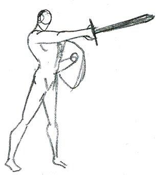 como dibujar como dibujar espadas