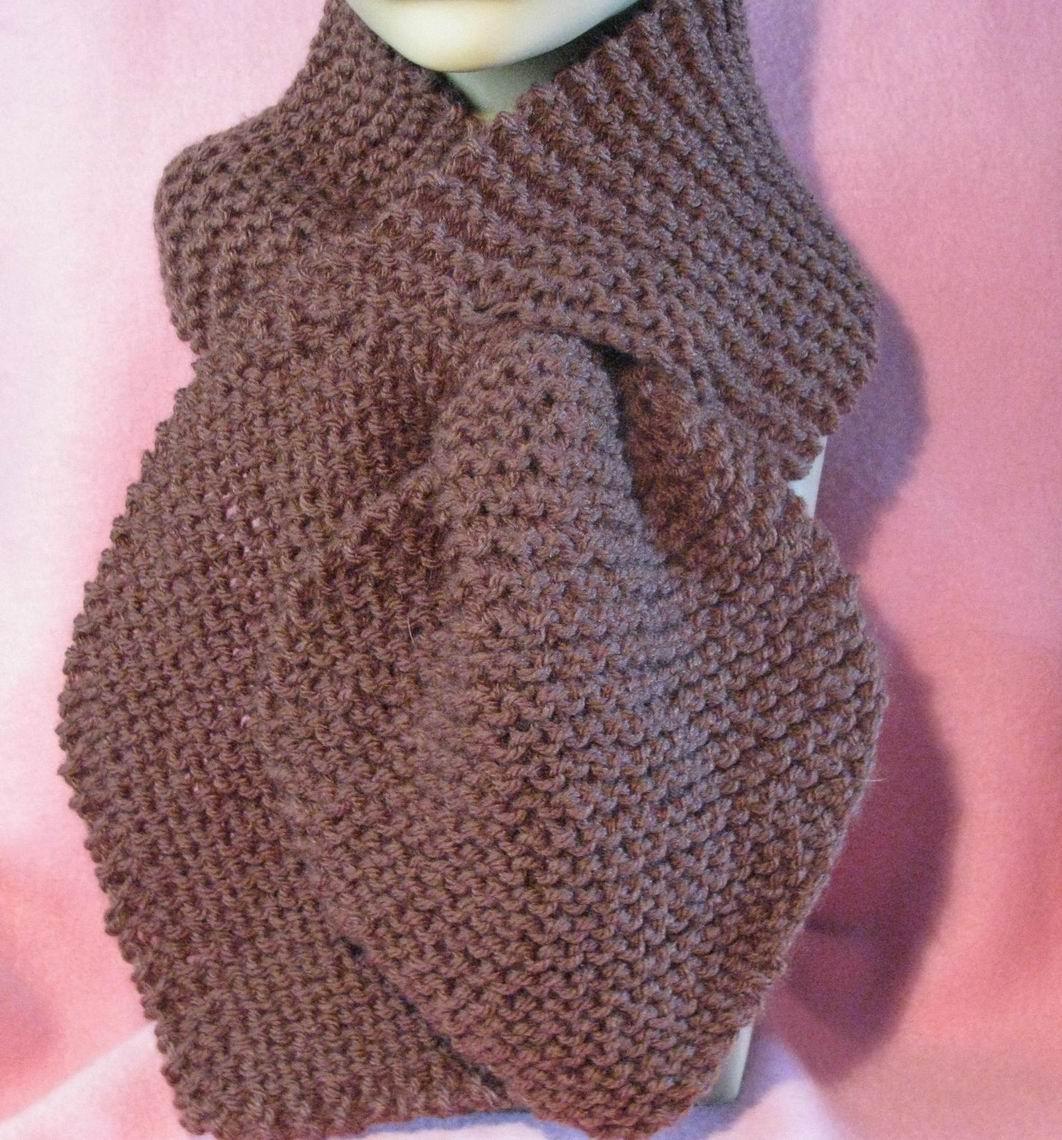 KEYHOLE SCARF CROCHET PATTERN ? Easy Crochet Patterns