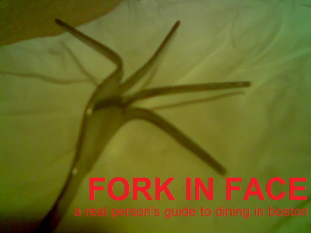 Fork In Face