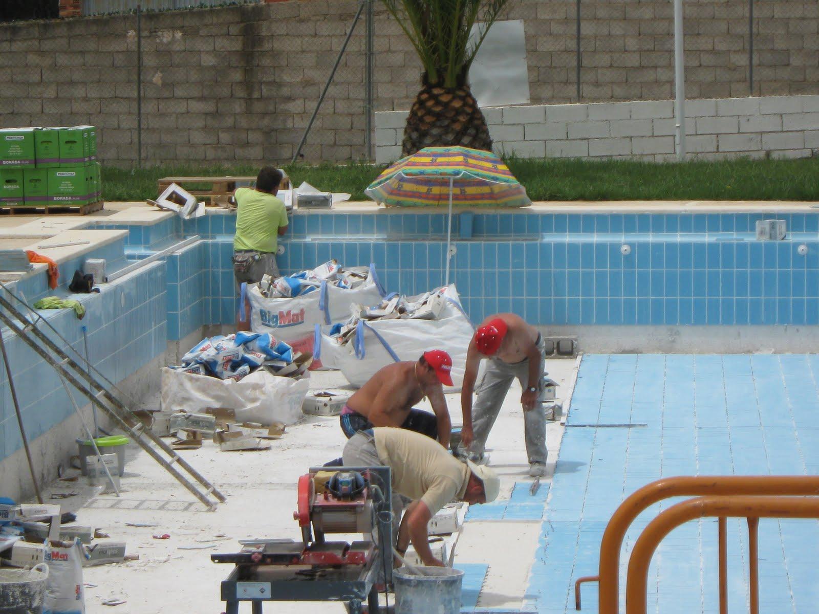 Construcciones y reformas barroso for Piscina segorbe