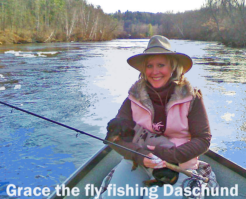 She 39 s so fly is fly fishing for winter steelhead on the for Fly fishing michigan