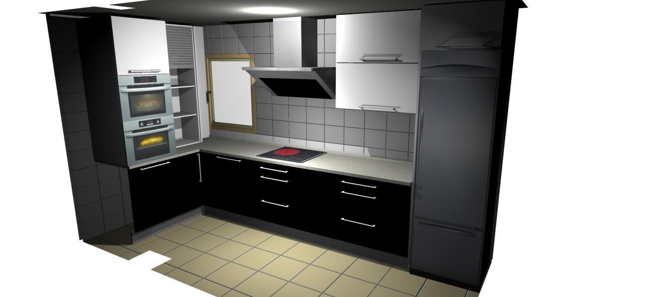 Muebles de cocina horno empotrado for Hornos para cocina