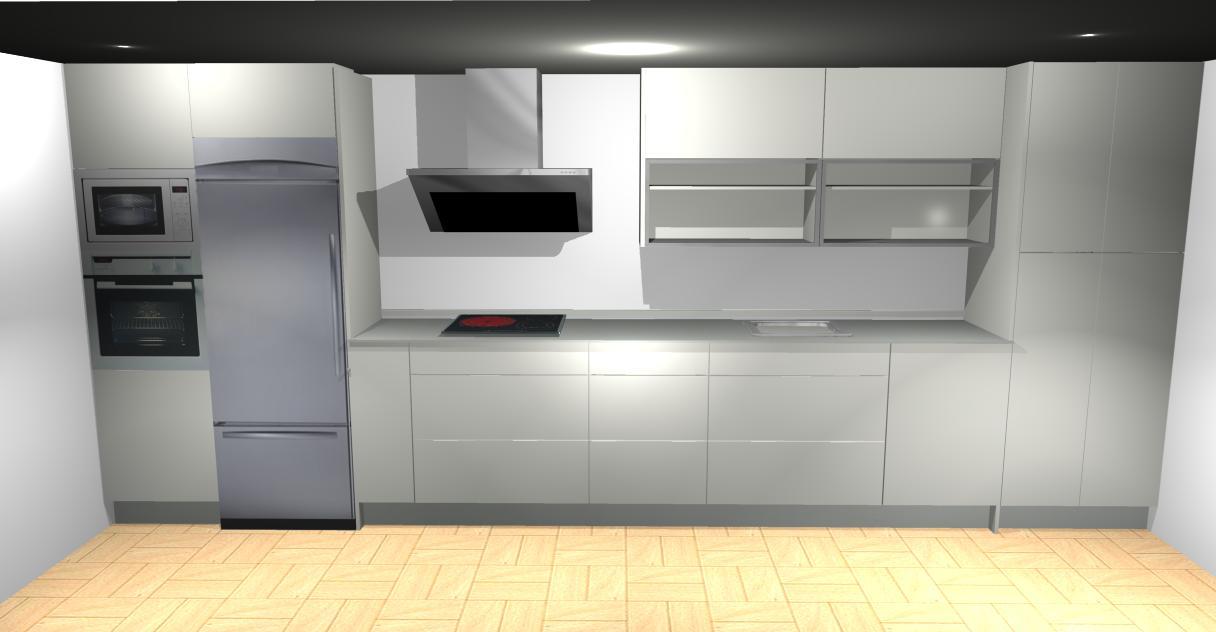 Formas almacen de cocinas tengo un calentador en mi cocina for Mueble para encastrar horno y encimera
