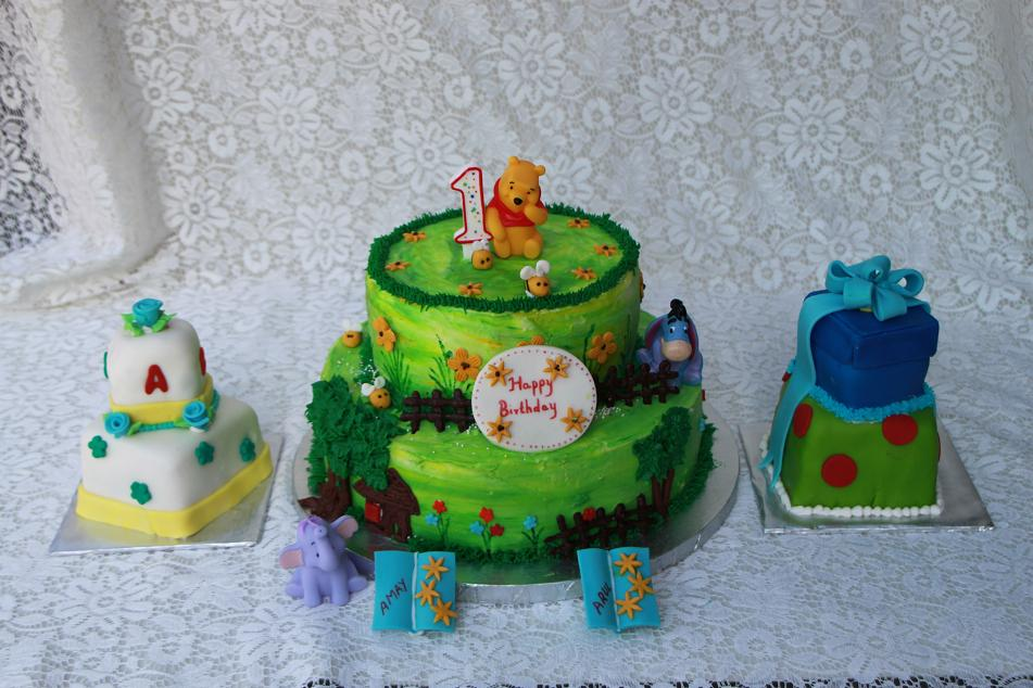 ... DELIGHTS: Winnie The Pooh Cake and Block,gift box mini tiered Cakes