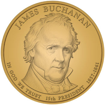 James Buchanan Dollar Desiger and Engraver: Phebe Hemphill