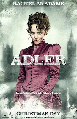 adler poster - Nuevos póster de Sherlock Holmes.