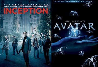 inception%2Bavatar - Cinergetica regala Movies.