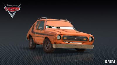 imagen galeria Grem - Los nuevos personaje de Cars 2