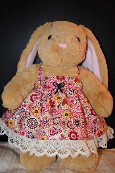 Thousand Square Feet Halter Sundress For 40 Bear Delectable Build A Bear Clothes Patterns
