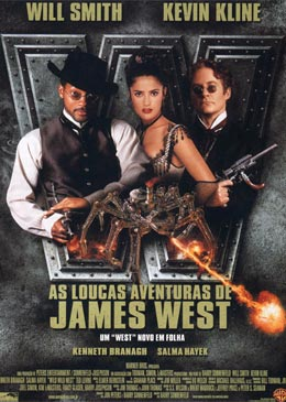 As Loucas Aventuras de James West Dublado 1999