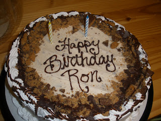 wanna split a blog?: Ron s birthday