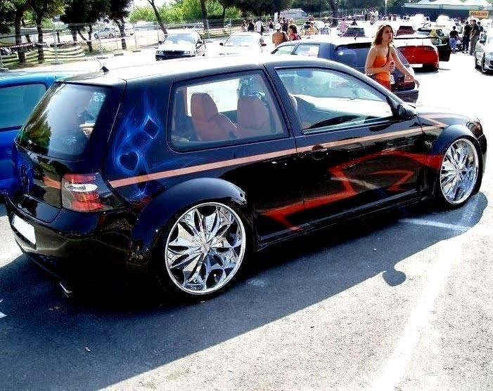 Top New Top Car Model Wallpaper On 2010: Carros Tuning - Golf Tuning IW42