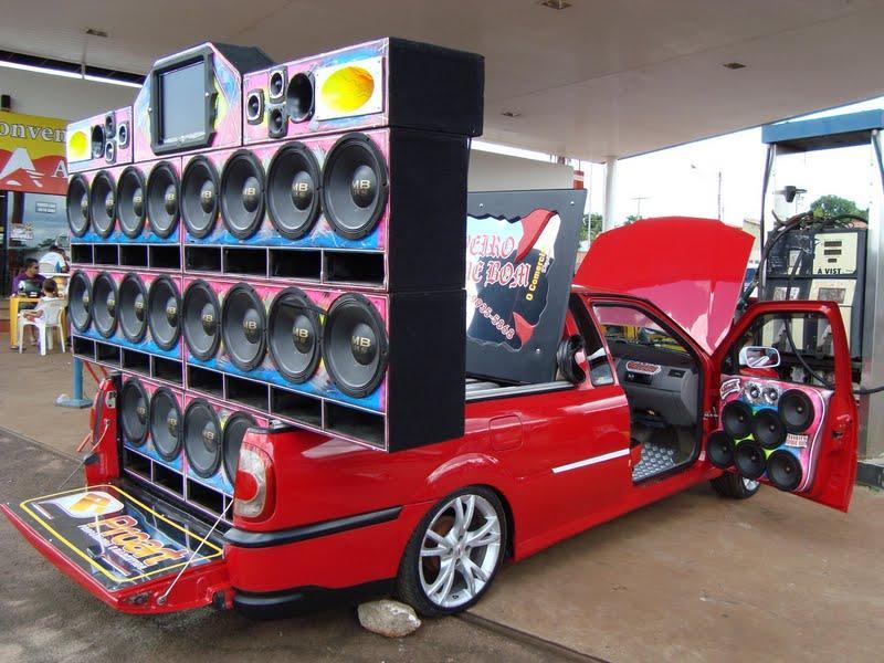 Carros Tuning - Saveiro Tuning - Som - Carros Tuning