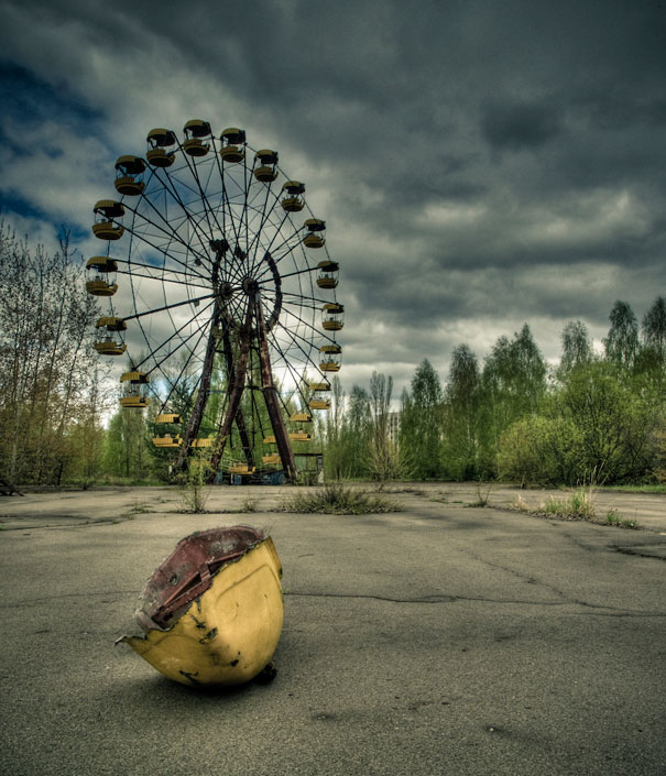 Chernobyl Apartment Buildings