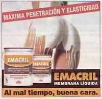 Publicidad chota Emacril