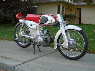 1964 Honda C110 LSR Project