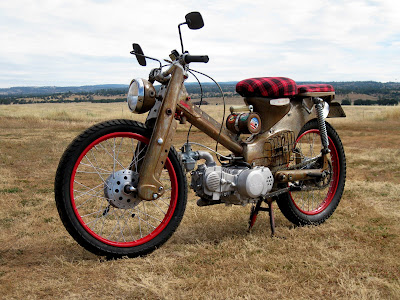 Ratty - 1964 Honda Trail 55 Rat Rod