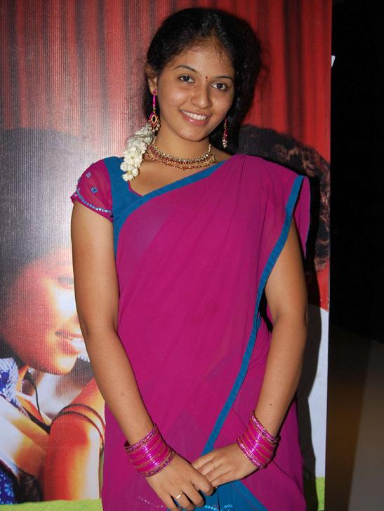 telugu cinema news south indian actresses in half saree