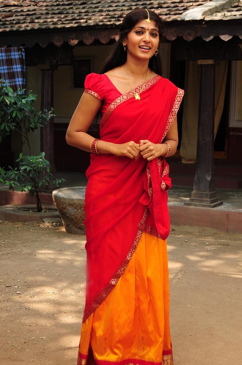Telugu Cinema News: South Indian Actresses in Half Saree Celebrity ...